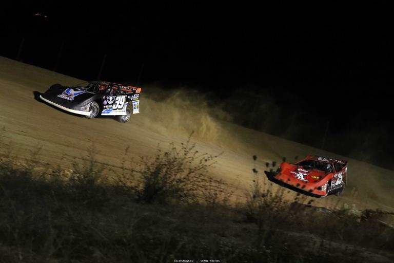 Tim McCreadie, Shane Clanton - Dirt Late Model Racing - Raceway 7 A35I0040