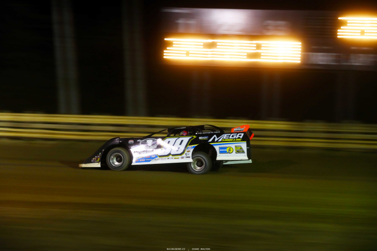 Tim McCreadie at Raceway 7 - Lucas Oil Late Model Dirt Series A35I0089