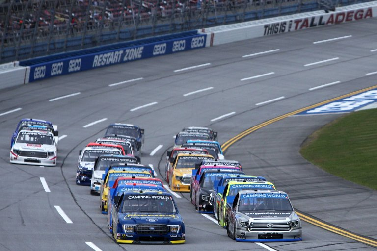 Todd Gilliland, Ben Rhodes - NASCAR Truck Series - Talladega Superspeedway